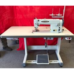 Consew 1206RB Commercial Sewing Machine with Servo Motor and Table