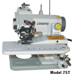 Consew Model 75T All Purpose Portable Chainstitch Blindstitch Machine