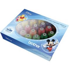 Brother ETPDISCL24 Disney Classic Embroidery Thread Kit