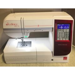 Elna Excellence 680+ Computerized Sewing Machine with 9mm Stitches Recent Trade