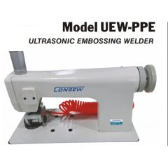 Consew Ultrasonic Embossing Fabric Welder UEW-PPE