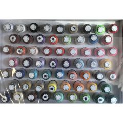 Exquisite Most Popular Colors 60 Spool Embroidery Thread Set
