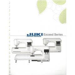 Juki Workbook For Exceed F300 F400 F600 Sewing Machines