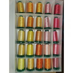 Exquisite 25 Shades of Easter Embroidery Thread Set