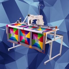 Grace 15M Longarm Quilting Machine with Qzone Hoop Frame