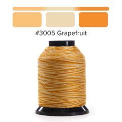 Grace Finesse Variegated Quilting Thread Grapefruit #3005