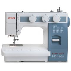 Janome HD-1400 Heavy Duty Sewing Machine Refurbished