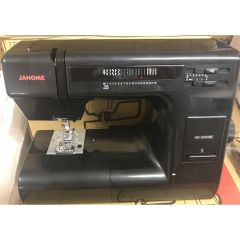 Janome HD-3000 Sewing Machine in Limited Edition Black Recent Trade
