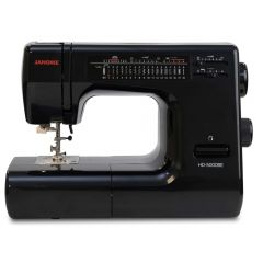 Janome HD-5000 Sewing Machine in Limited Edition Vintage Black with Bonus Kit Refurbished