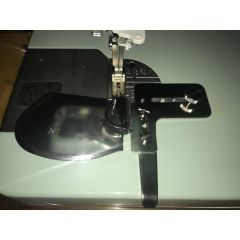 Single Fold Downturn Hemmer 3/4 Inch for Straight Stitch Sewing Machines