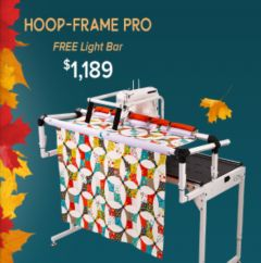 Grace Q-Zone Hoop Quilting Frame Pro