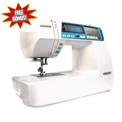 Janome 4120QDC-B Quilter Decor Computer Sewing Machine