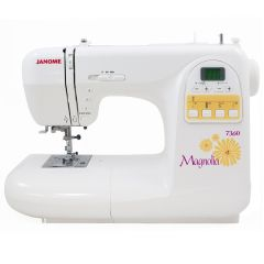 Janome 7360 Magnolia Sewing Machine Refurbished