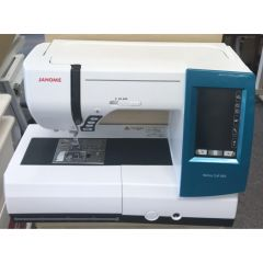 Janome Memory Craft 9900 Sewing & Embroidery Machine - Recent Trade