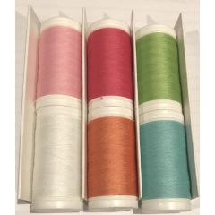 Janome Artistic Poly Core Summer All Purpose Sewing Thread Set