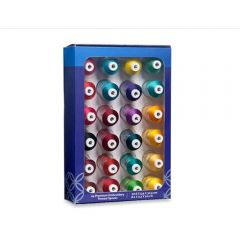 Brother ETPJEWEL24 24 Jewel Colors Embroidery Thread Set