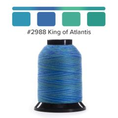 Grace Finesse Variegated Quilting Thread King Of Atlantis #2988