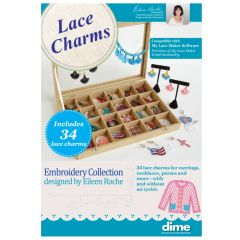 DIME Designs in Machine Embroidery Lace Charms Embroidery Collection
