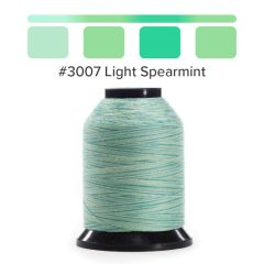 Grace Finesse Variegated Quilting Thread Light Spearmint #3007