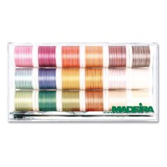 Madeira Cotona No.50 Variegated Quilting and Embroidery Thread Box