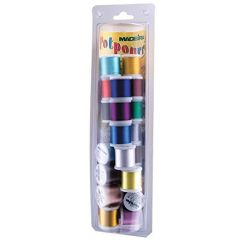 Madeira 20928077R Potpourri Embroidery Thread Value Pack Rayon