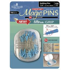 Taylor Seville Magic Quilting Pins 1 3/4 Inch pack of 50