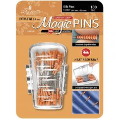 Taylor Seville Magic Silk Pins 1 7/16 Inch pack of 50