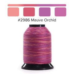 Grace Finesse Variegated Quilting Thread Mauve Orchid #2986