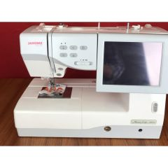 Janome MC11000 Sewing and Embroidery Machine Combo Pre-Owned