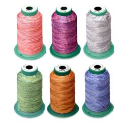 Exquisite Holiday Medley Variegated Embroidery Thread Set