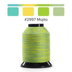 Grace Finesse Variegated Quilting Thread Mojito #2997