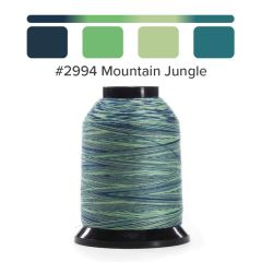 Grace Finesse Variegated Quilting Thread Mountain Jungle #2994