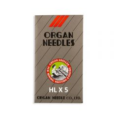 Organ HL x 5 Sewing Machine Needles for Janome HD9