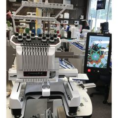 Brother PR-1050x Embroidery Machine Seminar Model