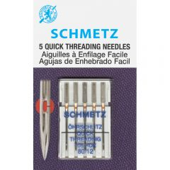 Schmetz Quick Threading Sewing Machine Needles