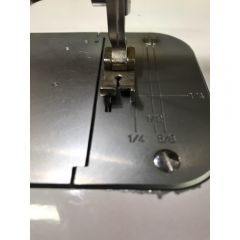Commercial Sewing Machine Raising Foot with 3/16 Inch Guide