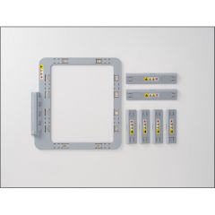"""Brother SAMF180 Hoopnetic 5x7"""" Magnetic Flat Frame for XP, XJ, XE, XV, W, V and NQ Machines"""