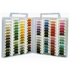 Sulky Embroidery Thread Slim Line Thread Box Set of 104 Colors