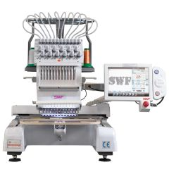SWF MAS 12 Needle Commercial Embroidery Machine