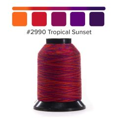 Grace Finesse Variegated Quilting Thread Tropical Sunset #2990