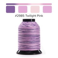 Grace Finesse Variegated Quilting Thread Twilight Pink #2985