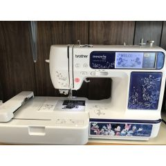 Brother NV990D Sewing and Embroidery Machine Recent Trade