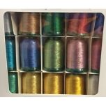 Kingstar Metallic Embroidery Thread Set