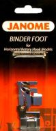 Janome Binder Foot for Top Loading 7mm Models