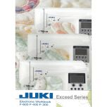 Juki Workbook For Exceed F300 F400 F600 Sewing Machines on CD Compact Disk