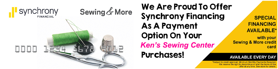 Sew & More with Synchrony Credit Card